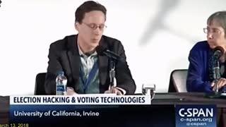 Kamala Harris - Voting Machine Hacking - Election Security - C-Span3.