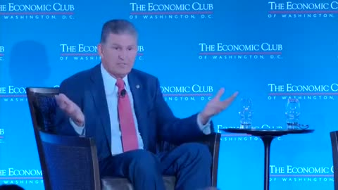 Manchin on Changing Parties: 'I Don't Know Where in the Hell I Belong'