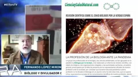 Biólogo Fernando López Briones desmonta la Plandemia y anuncia informe de revisión científica