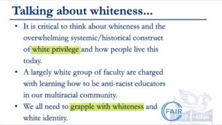 Brave Teacher Speaks Out Against the Evils of Critical Race Theory