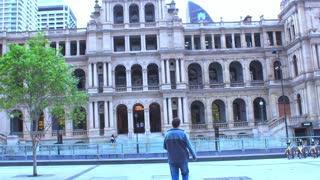 A leisure walk to Treasury Casino from Southbank Brisbane Australia