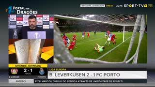 Conferência imprensa Sérgio Conceição - Pós Leverkusen x FC Porto