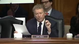Epic Take Down Of Dr.Fauci By Senator Rand Paul