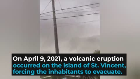 Only the vaccinated can escape St. Vincent's volcano via rescue cruise ships, island PM announces