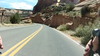 Riding on the Colorado National Monument