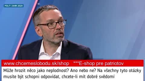 """Bývalý rakouský ministr vnitra: """"Rakousko je pokusná laboratoř."""""""