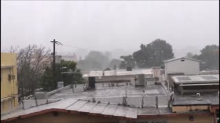 Hurricane Irma in San Juan, Puerto Rico