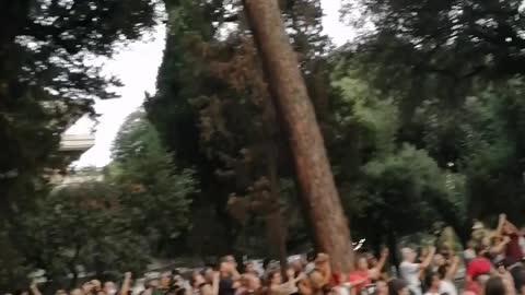 Roma SOTTO LA SEDE RAI