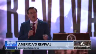 Mike Lindell Christian conversion and meeting Donald Trump