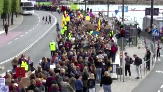 Thunberg urges global strikes to 'uproot the system'
