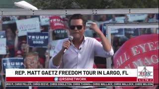 "Gaetz: ""I got the Florida Variant - the Freedom Variant!"""