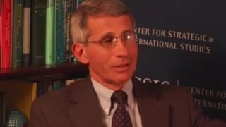 Fauci talking about gain of function research in 2013