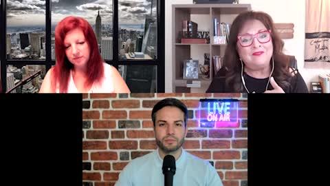 Delora & Denise Discusses Trump, Vaccines, God Wins with Nicholas Veniamin