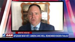 Afghan war veteran: Americans will remember Biden failed