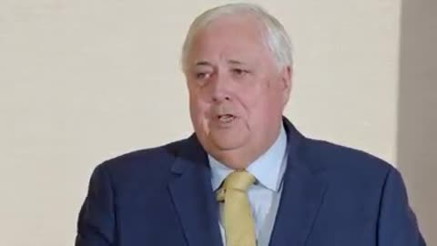 Clive Palmer News Conference