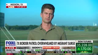 Border Patrol agents at the Del Rio Sector are overwhelmed by high numbers of migrants