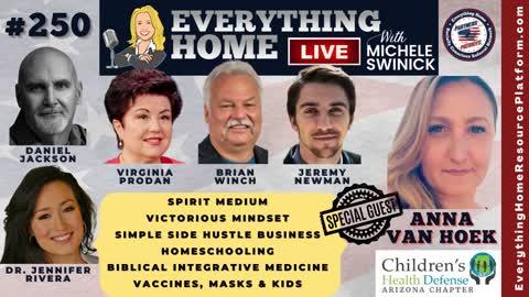 250 Children's Health Defense, Vaccine & Mask Mandates, HomeSchooling, Spirit Medium, Mindset, Side Hustle, Biblical Medicine