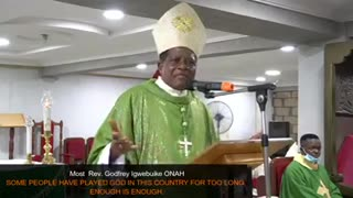 The Bishop is saying he Truth