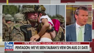 Pete Hegseth: The Taliban knows more about Americans in Afghanistan than US officials