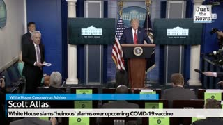 White House slams 'heinous' alarms over upcoming COVID-19 vaccine
