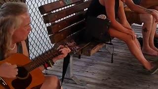 Gulfport, Fla playing music.