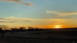 Beautiful Sunrise in Nebraska
