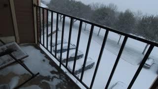 Rare Snowfall in Texas!