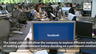 Facebook says new algorithm will 'reduce political content' on news feeds