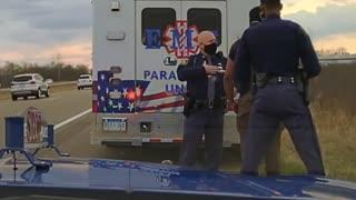 Dashcam video captures arrest of Michigan Rep. Jewell Jones