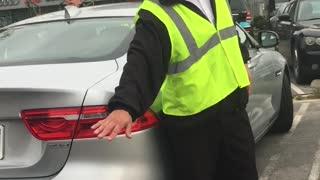 Racist Tirade Over a Parking Spot