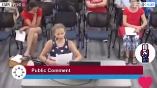 9-Year-Old Girl Confronts School Board Over BLM Posters