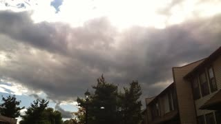 Time Lapse of Approaching Storm