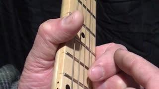 Guitar Theory - The D shape