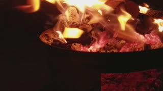 Evening Camp Fire