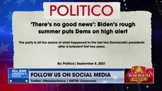 Dems On High Alert Over Biden's Rough Numbers