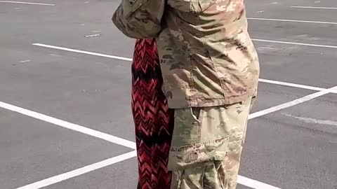 Military Son Surprises Mom In Emotional Video