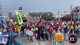 Marchas del 1 de mayo en Cartagena