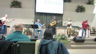 Only Trust Him - Bluegrass style Gospel HYMN at Fellowship Baptist Church