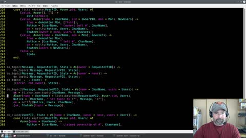 """Erlang: Telnet Chat Server Part 2! Creating Channels! (aka """"more cheating with ZX"""")"""