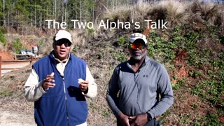 The Two Alpha's Talk - Plinking with 22 ammo