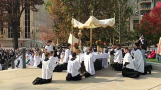 Unite Our Nation Eucharistic Procession - Madison