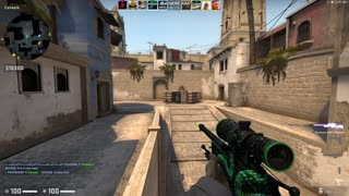 Counter Strike GO Comp Game Play