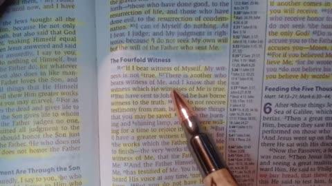 Bible Study - 4-30-2021 - John 5 31-47 - Jarrin Jackson