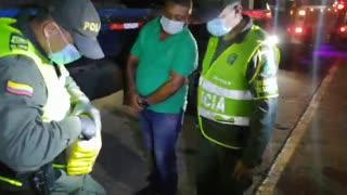 Video: La Policía incautó un cargamento de marihuana en la vía Río Ermitaño – Lizama