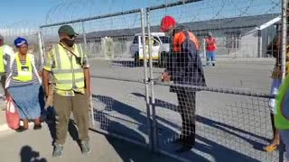 Mfuleni residents closed the gate at Fairdale Primary school