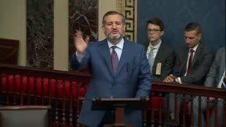 Cruz on the Senate Floor: Pelosi Mask Mandates are Unprecedented, Abusive