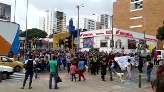 Marcha Día de la Mujer en Bucaramanga