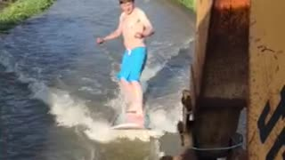 Surfing the Floods