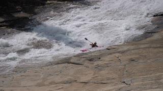 Kayaking Down the Largest Natural Water-Slide