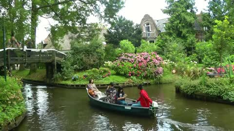 NETHERLANDS summer in Giethoorn